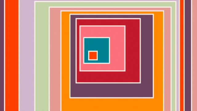 colorful looping squares - machine learning stock videos & royalty-free footage