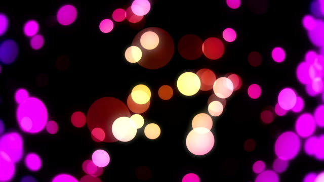 Colorful New Year Background 05 -10sec. Loopable