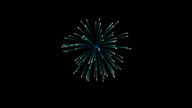 colorful of firework for celebration - firework display stock videos & royalty-free footage