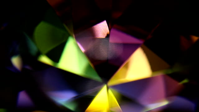 Colorful Rotating Diamond Prism 12