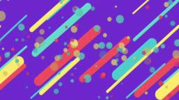 colorful seamless geometric patterns Purple background