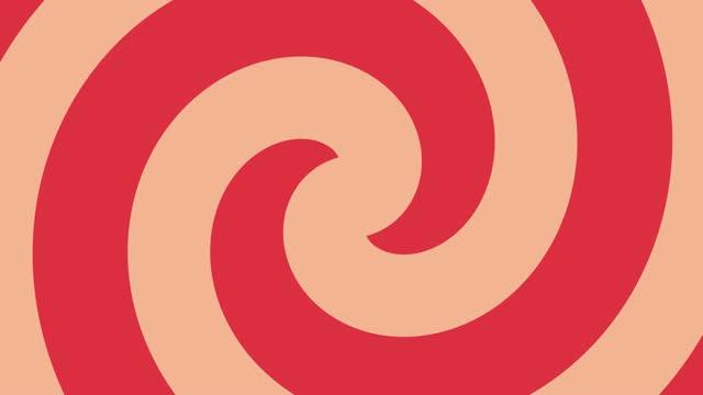 vidéos et rushes de motifs géométriques colorés de forme transparente fond-dessin animé drôle - carré forme bidimensionnelle