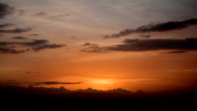colorful sky after sunset - illusion stock videos & royalty-free footage