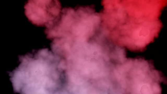 vídeos de stock, filmes e b-roll de colorido fumar - movimento perpétuo
