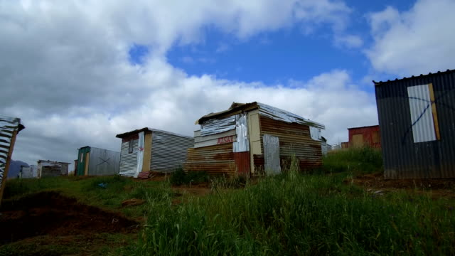 colorful townships of africa - township stock videos & royalty-free footage