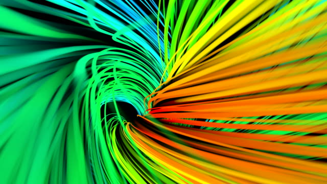 colorful twist animation - multi coloured stock videos & royalty-free footage