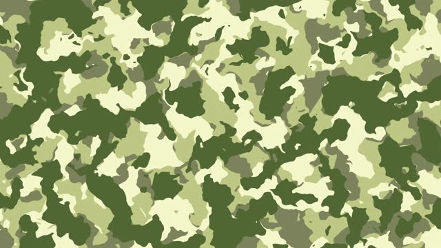 colorful us army and military digital camouflage fabric texture background. stock video copy space - camouflage stock videos & royalty-free footage
