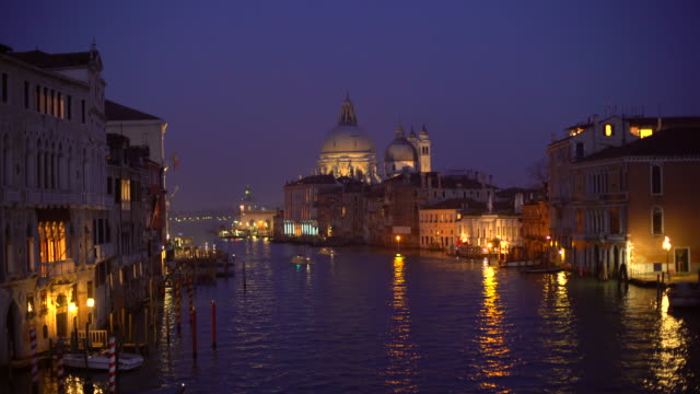 colorful venice by sunset - 4k - venice italy stock videos and b-roll footage