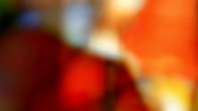 campi colore di sfondo colorato (anello): - multi layered effect video stock e b–roll