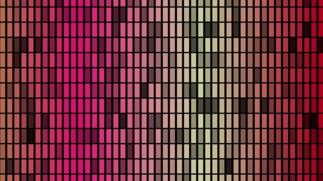 vidéos et rushes de l'égaliseur coloré de boucle de vj - but égalisateur