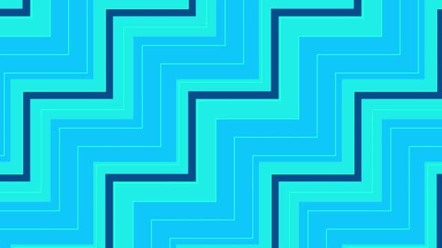 colorful zigzag pattern abstact video, modern clean abstract loop stock video - zigzag stock videos & royalty-free footage