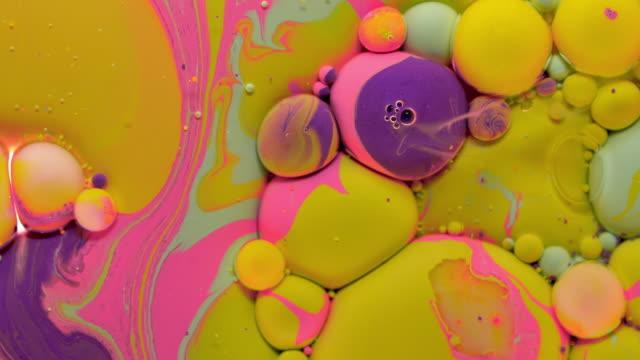 モーションストックビデオの色 - フラクタル点の映像素材/bロール