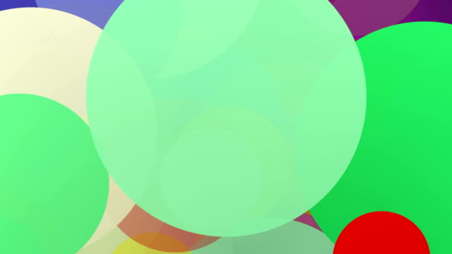 Colors Pop Art Abstract background Animation (Loopable)