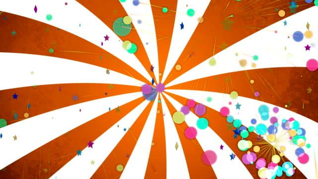 färger popkonst bakgrunden animation - tvådimensionell form bildbanksvideor och videomaterial från bakom kulisserna