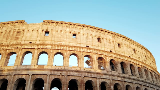 colosseum in rome - arch stock videos & royalty-free footage