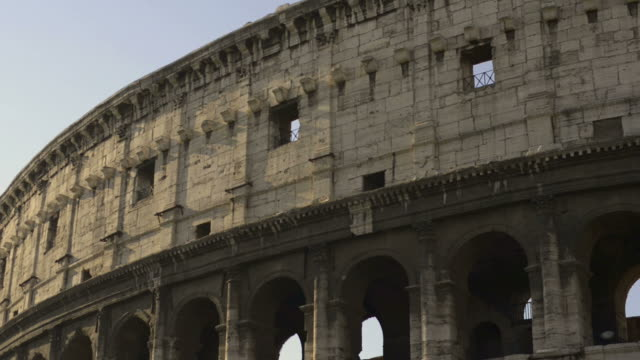 colosseum in rome - colosseum rome stock videos and b-roll footage