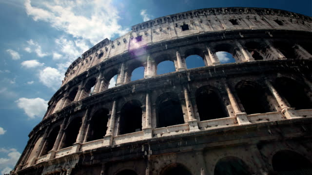 colosseum, rome, italy - ancient rome stock videos & royalty-free footage