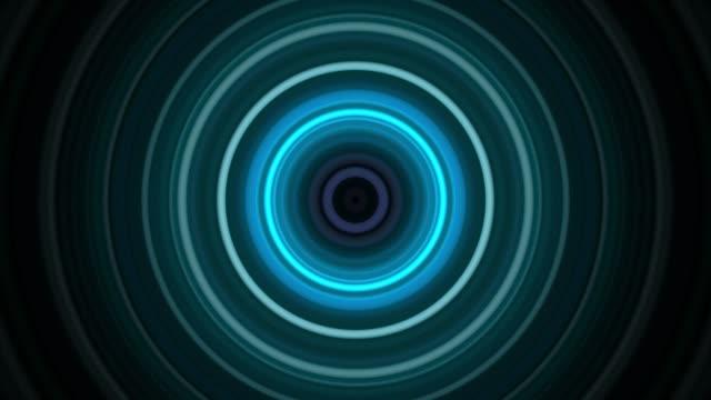 カラフルな円形の背景 - 催眠状態点の映像素材/bロール