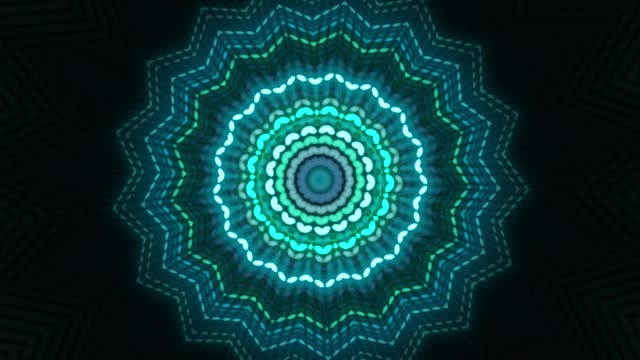 colourful kaleidoscope animation - kaleidoscope pattern stock videos & royalty-free footage