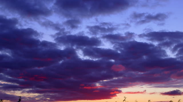 colourful sky - scarborough uk stock videos & royalty-free footage