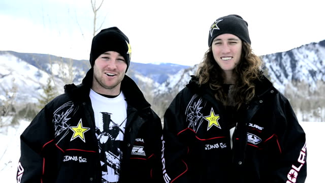 Colten and Caleb Moore discuss the transition from riding quads to snowmobiles injuries and what they expect while competing in the X Games Aspen...