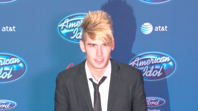 colton dixon at american idol' season 12 premiere 1/9/2013 in westwood ca - american idol stock videos and b-roll footage