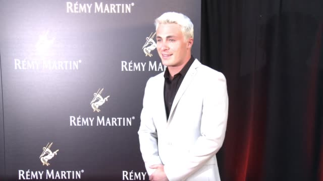 colton haynes at rémy martin hosts a special evening with jeremy renner and fetty wap celebrating the exceptional in los angeles, ca 6/15/17 - wap stock videos & royalty-free footage