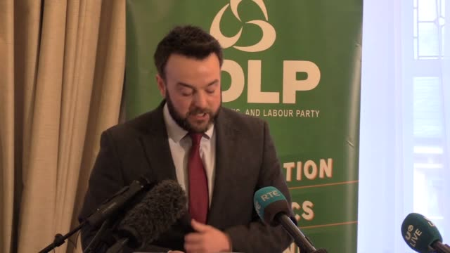 colum eastwood launches the sdlp's general election manifesto the general election is an opportunity to punish sinn fein for failing to take seats at... - sulking stock videos & royalty-free footage