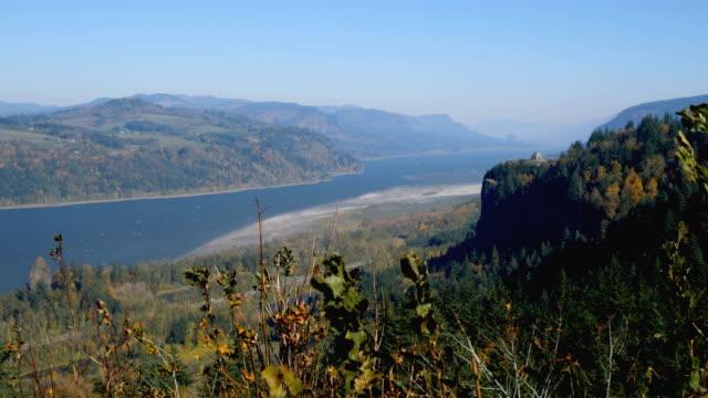 columbia river gorge - columbia river gorge stock videos & royalty-free footage