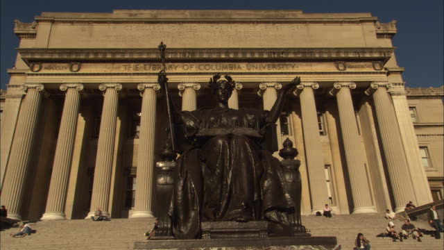 columbia universityの映像素材とbロール getty images