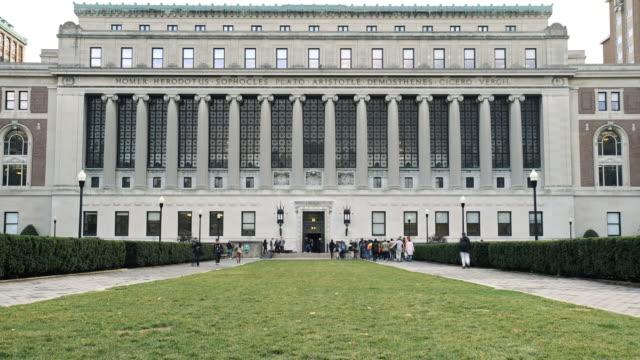 Columbia University - time lapse