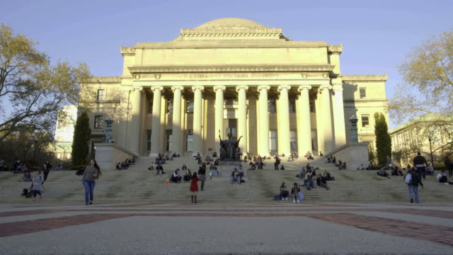columbia university - ivy league university stock videos & royalty-free footage