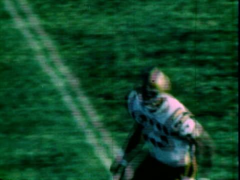 columbus evening dispatch newspaper headline reading purdue power menaces osu / highlight reel of ohio state university buckeyes upsetting purdue... - scrambling bildbanksvideor och videomaterial från bakom kulisserna