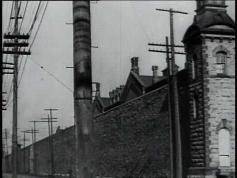 columbus ohio prison / columbus ohio united states - 1934年点の映像素材/bロール