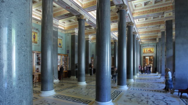 20 column hall hl 1 - russian culture stock videos & royalty-free footage