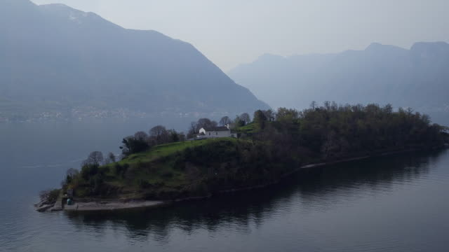 Isola Comacina In Comer See