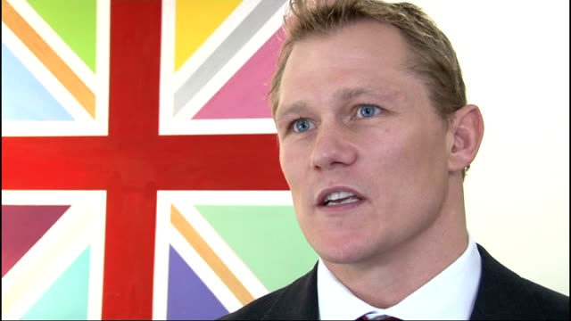 Combat Stress charity opens new wing in Surrey headquarters General view of new residential wing for war veterans PAN INT Josh Lewsey speaking to...