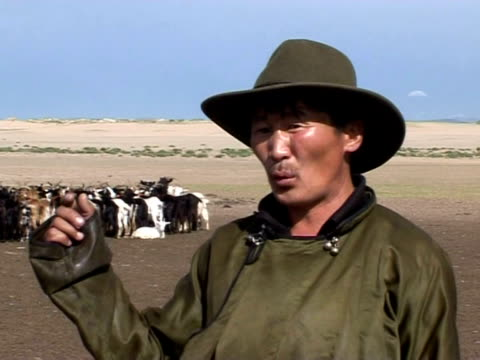 a combination of climate change and economic growth is fuelling the rapid spread of desert sands across mongolia threatening the country's iconic... - climate icon stock videos & royalty-free footage
