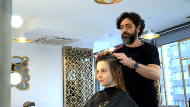 Combing and Cutting Hair
