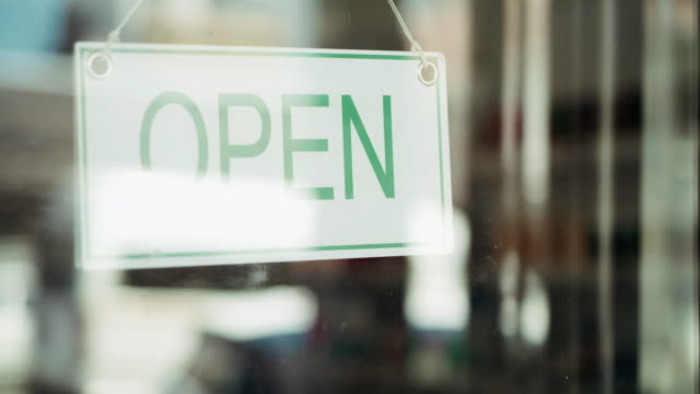 come on in - coffee shop background stock videos & royalty-free footage