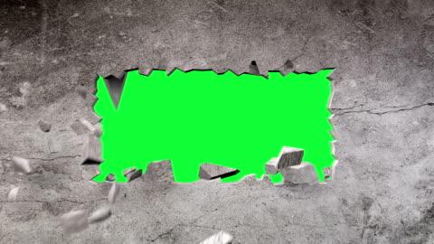vídeos y material grabado en eventos de stock de sal de la pared, animación cg - ladrillo