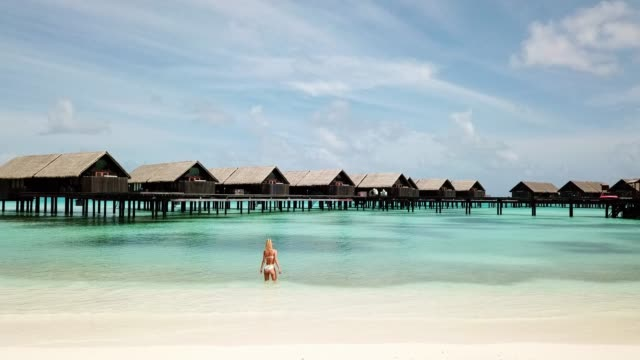 come with me to paradise - the maldives - maldives stock videos & royalty-free footage