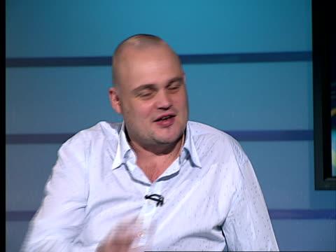 comedian al murray interview; al murray interview sot - al murray stock videos & royalty-free footage