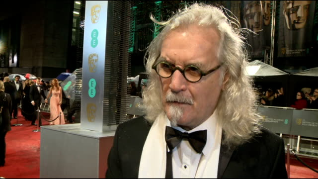 comedian billy connolly has cancer surgery and is diagnosed with parkinson's disease lib / 1022013 london royal opera house billy connolly interview... - billy connolly video stock e b–roll