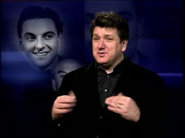 comedian bob monkhouse dies; itn bob mills interview sot - he must have had wonderful years when he went on stage thinking i'm good, i know i'm good,... - bob monkhouse bildbanksvideor och videomaterial från bakom kulisserna