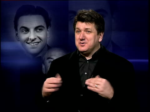 comedian bob monkhouse dies itn bob mills interview sot he must have had wonderful years when he went on stage thinking i'm good i know i'm good they... - bob monkhouse stock videos & royalty-free footage
