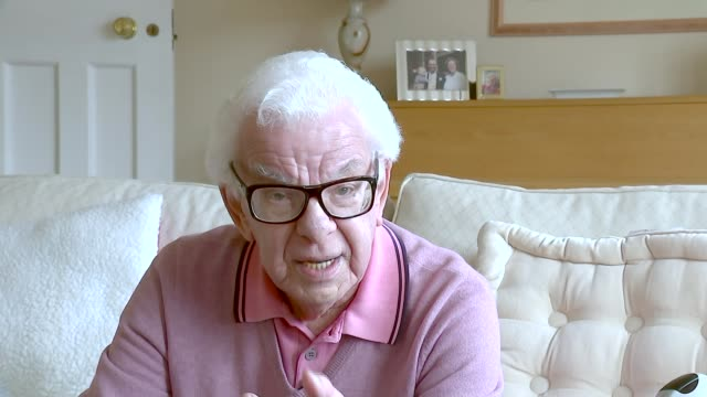 comedian ronnie corbett dies aged 85; barry cryer interview sot - barry cryer stock videos & royalty-free footage