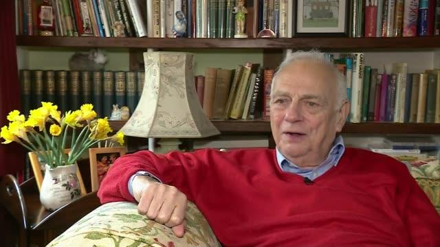 comedian sir ken dodd dies aged 90 roy hudd interview sot - roy hudd stock videos & royalty-free footage