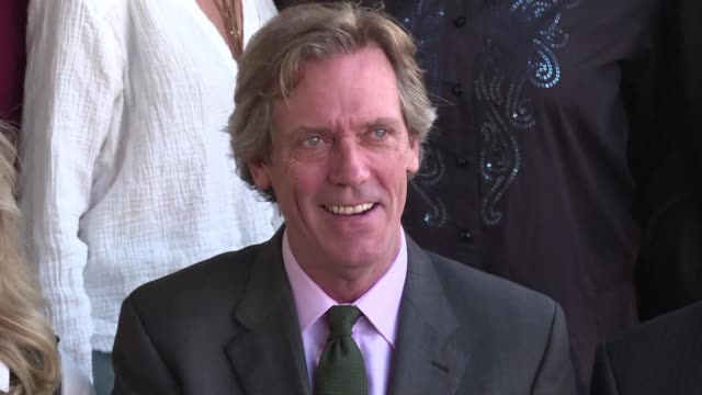 comedic actor writer and musician laurie star of the night manager house and numerous movies won a cbe - hugh laurie stock videos & royalty-free footage