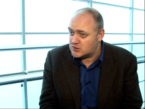 dara o'briain interview; o'briain interview sot - done one hundred and three gigs this year / finds it hard to be funny talking about the dvd / on... - dara o'briain stock videos & royalty-free footage